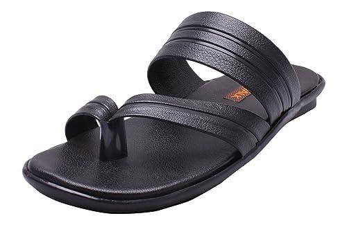4ff626b5b54 WAVE WALK Men s Black Outdoor Sandals - 10 UK  Buy Online at Low ...