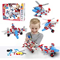 274-Piece Gili Construction Engineering Building Toy Set