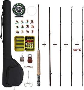 NetAngler Fishing Rod and Reel Combo