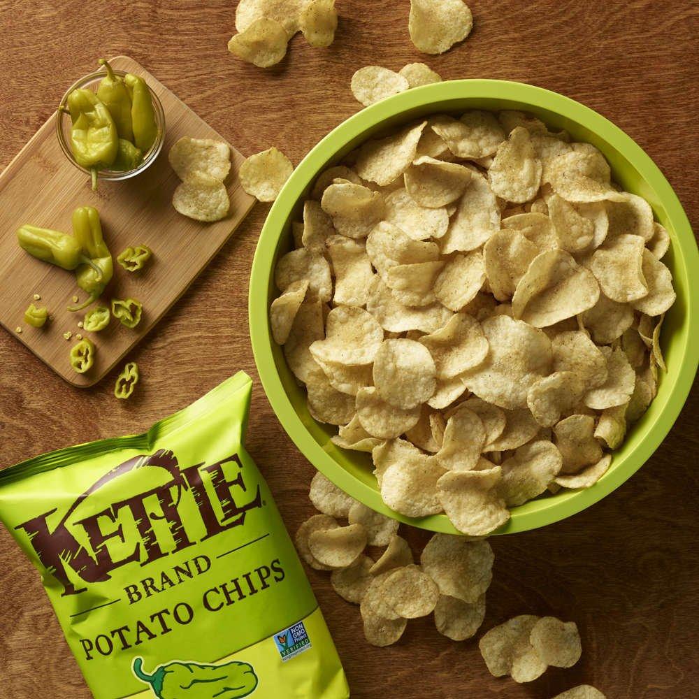 Amazon.com: Kettle Brand Potato Chips, Pepperoncini, 5 Ounce