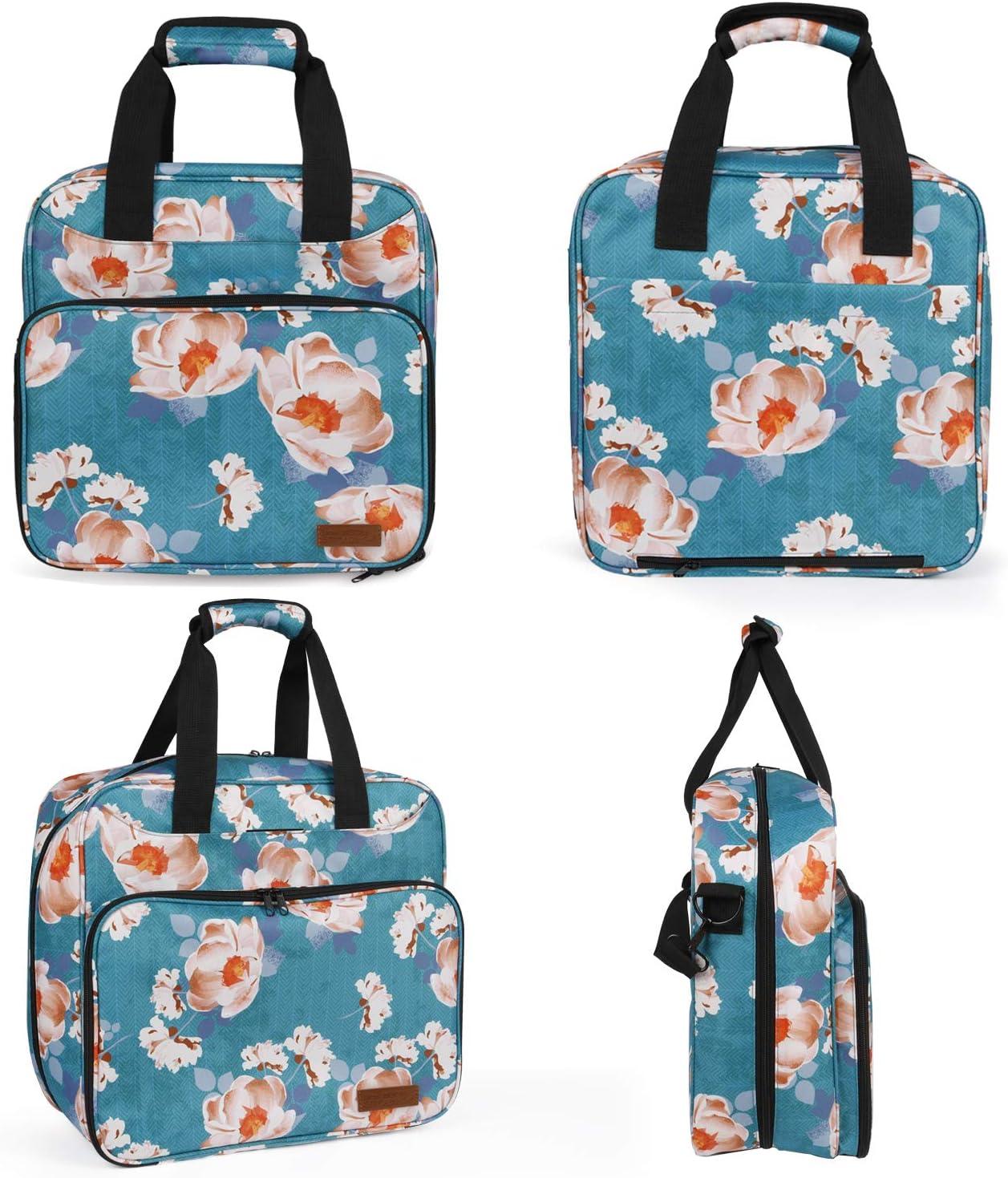 Protective Pouch Tote Bags Organizer for Cricut Machine Supplies Natur@cho Cricut Storage Carrying Case Cover Bag for Cricut Easy Press Mini 9x9