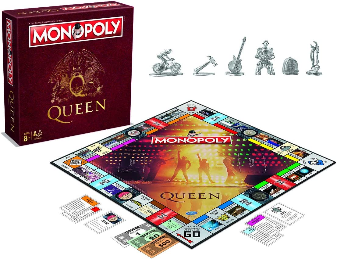 Eleven Force Monopoly Queen, Multicolor (Wining Moves 8436573612128): Amazon.es: Juguetes y juegos