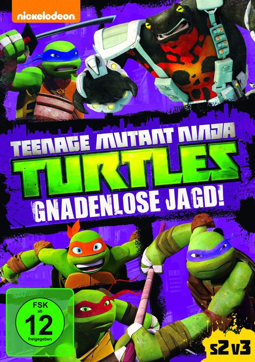Amazon.com: Teenage Mutant Ninja Turtles: Gnadenlose Jagd ...