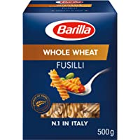 Barilla Pasta Whole Wheat Fusilli Integrale, 500g