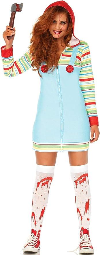 LEG AVENUE EUROPE Disfraz de Chucky Asesina para Mujer: Amazon.es ...