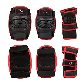 Smartodoors Kids Child Knee Pads And Elbow Pads With