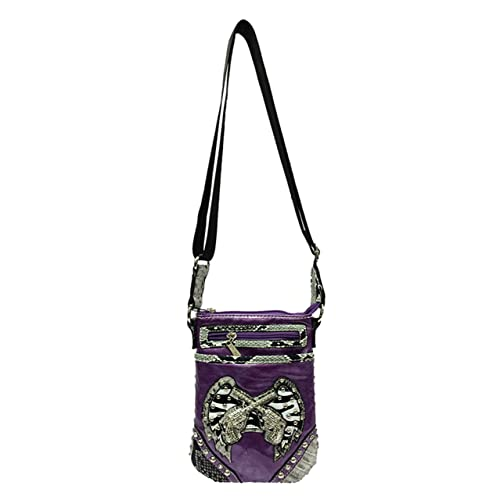 c78aa7eff5e1 Crossbody Purse Y.C. Womens Small Messenger Bag Leather Vintage Mini Shoulder  Bag with Adjustable Strap for