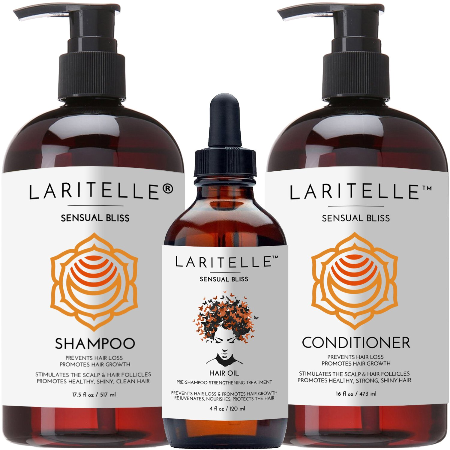 Laritelle Organic Hair Growth Set Sensual Bliss by Laritelle