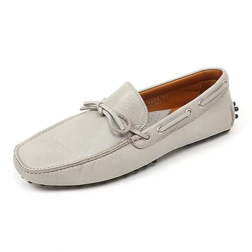 PORTOFINO uomo loafer scarpa CLUB grigio mocassino man shoe C3836 qOw0n