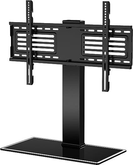 FITUEYES Soporte Giratorio de TV de 32-65 Pulgadas Altura Ajustable Soporte de Mesa para TV LCD LED OLED Plasma Plano Curvo TT105001GB: Amazon.es: Electrónica