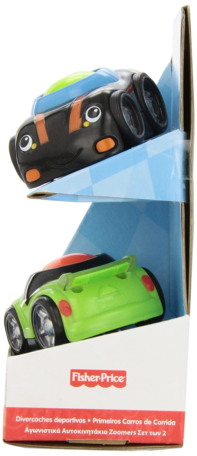 Amazon.com: Fisher Price Lil Zoomers Speedy Sportsters 2 pack: Toys ...
