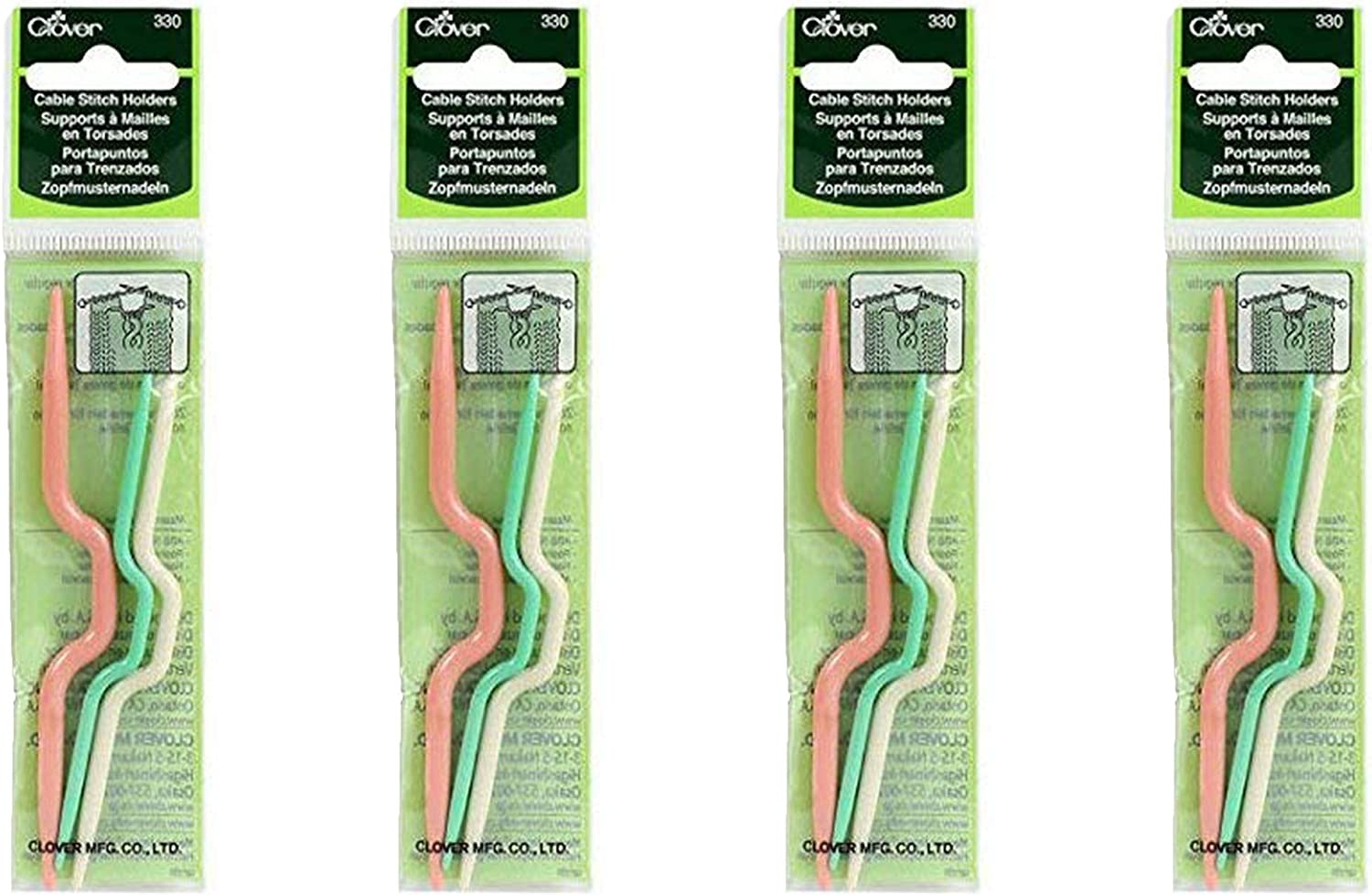 Clover CABLE STITCH HOLDERS 330