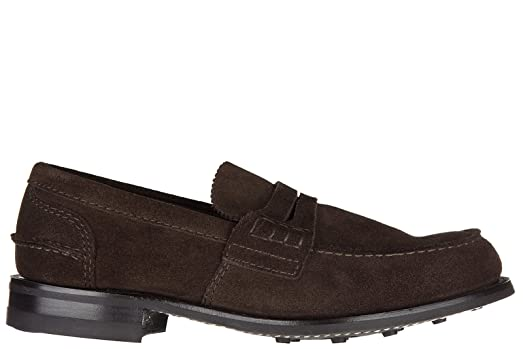 Men's Suede Loafers Moccasins pembrey Brown