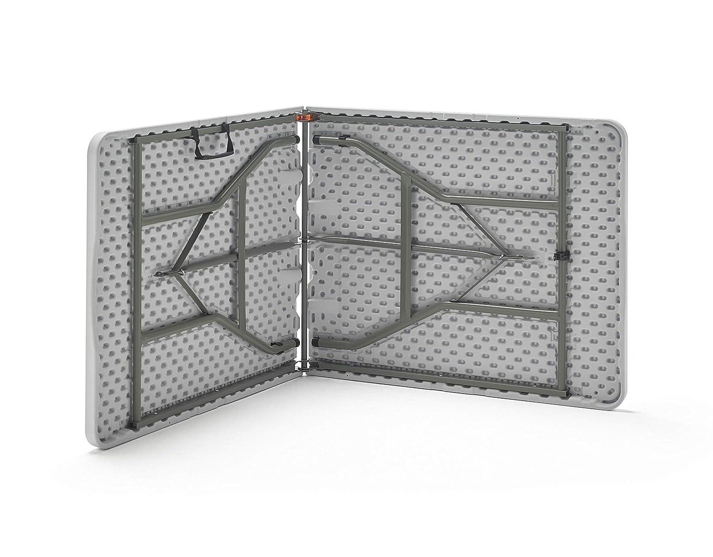 KitGarden - Mesa Plegable Multifuncional, 180x75x74cm, Blanco ...
