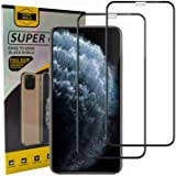 Glass Screen Protector Apple iPhone XS max (6.5) [Edge to Edge Coverage] Full Protection Durable Tempered Glass 2Pack