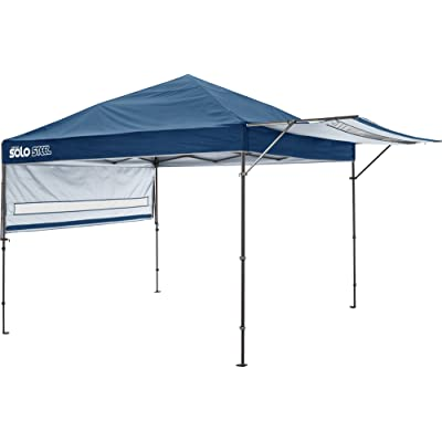 Quik Shade Solo Steel 170 10 x 17 ft. Straight Leg Canopy, Midnight Blue : Sports & Outdoors
