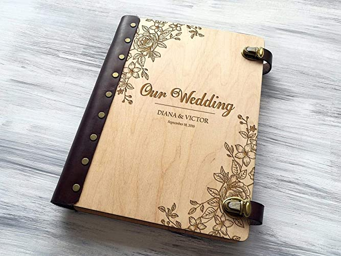 Amazon Wedding Photo Album Personalized Photo Album Custom