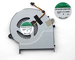 New CPU Cooling Cooler Fan for Toshiba Satellite L50-B L55-B L50D-B L55T-B P/N:A000291240, 3CBLITA0I00 , 3CBLITA0I10