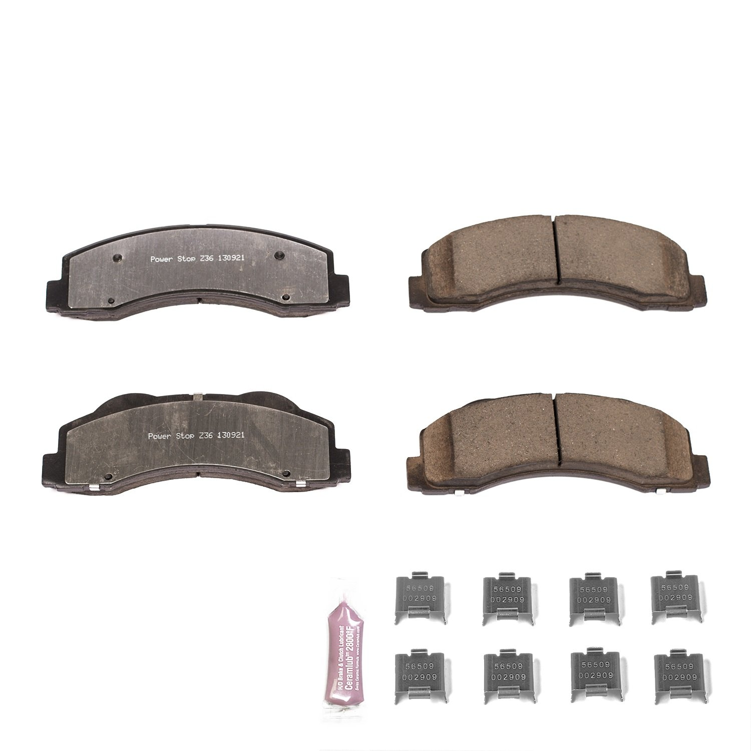 Amazon Power Stop Z36 1414 Front Z36 Truck and Tow Brake Pads