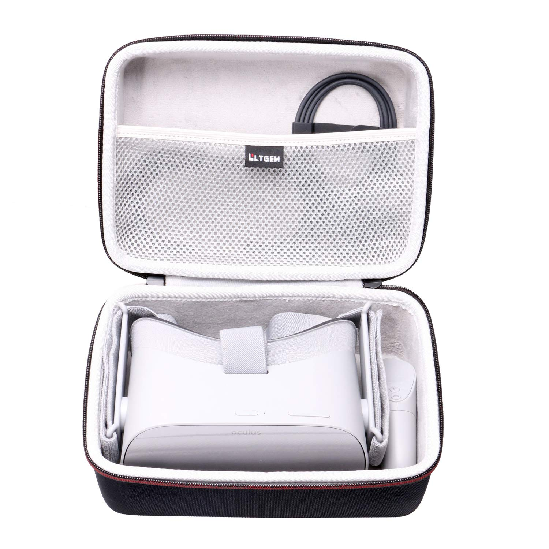 LTGEM EVA Hard Case for Oculus Go Standalone Virtual Reality Headset - Travel Protective Carrying Storage Bag