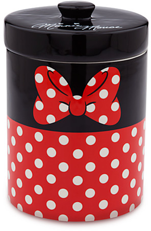 Minnie Mouse Ceramic Kitchen Cannister | Drinkware | Disney Store