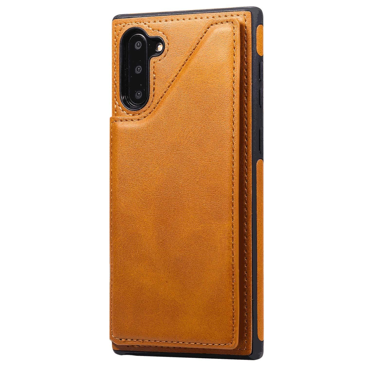 Cover for Samsung Galaxy S9 Leather Extra-Durable Business Kickstand Card Holders Mobile Phone Cover with Free Waterproof-Bag Samsung Galaxy S9 Flip Case