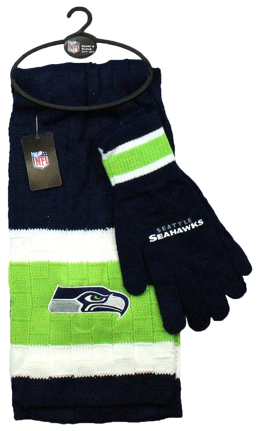 c10c34a1 Littlearth NFL Unisex NFL Scarf & Gloves Gift Set
