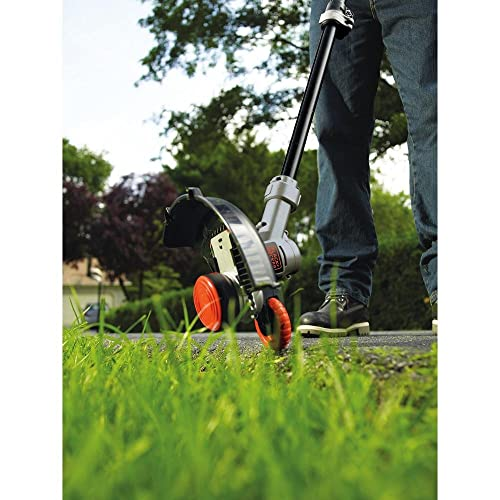 BLACK+DECKER LST400 20V Lithium High Performance Trimmer and Edger, 12""