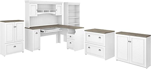 Bush Furniture Fairview 60W L Desk