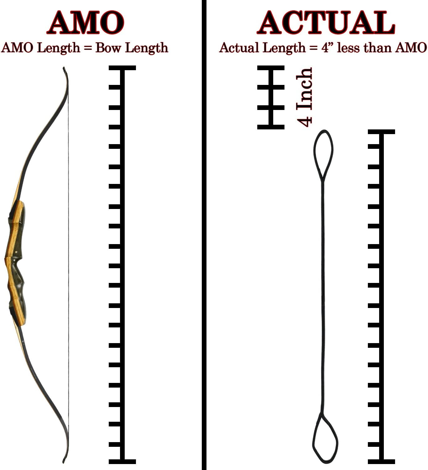 """54/""""  58 AMO Fast Flight Recurve Bowstring Bow String Tradional"""