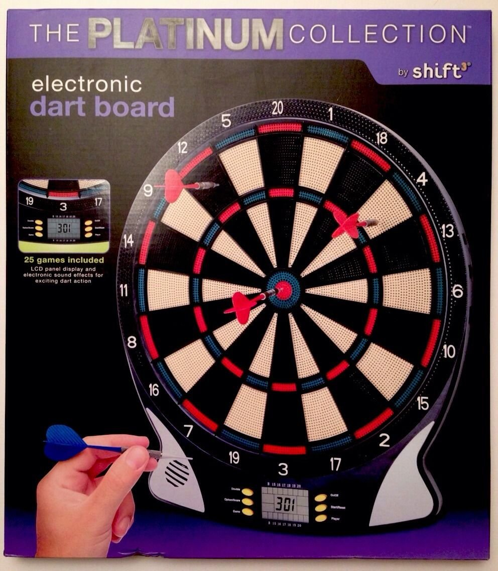 Shift3 The Platinum Electronic Dart Board
