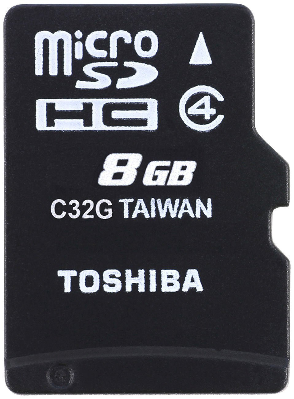 Toshiba 8GB MicroSDHC Class 4 Memory Card..