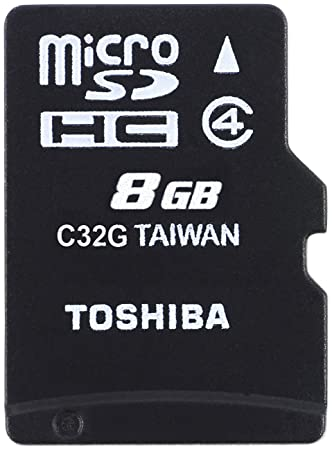 Toshiba M102 - Tarjeta de Memoria Micro SDHC de 8 GB: Amazon.es ...