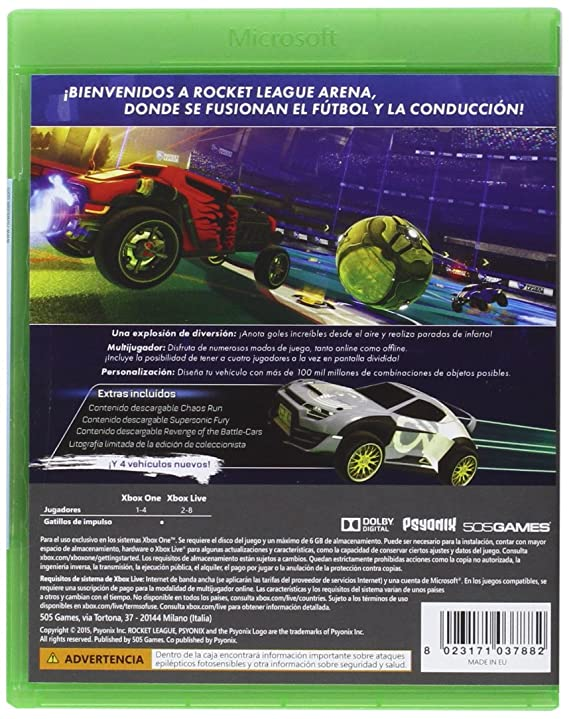OneAmazon EditionXbox Collector's esVideojuegos League Rocket KTJ3F1cl