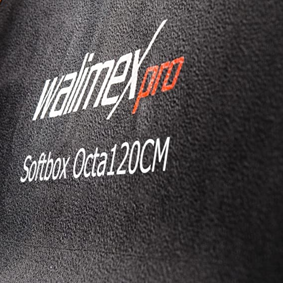 Walimex pro Softbox plus Orange Line 25x150cm aurora//bowens