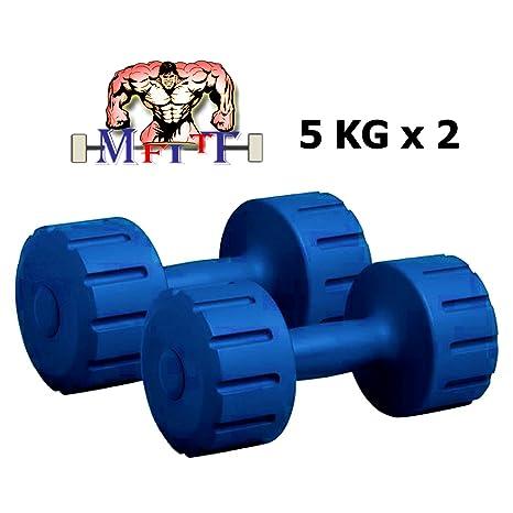 MFITT DM PVC Combo16 Dumbell Set, Adult Weights