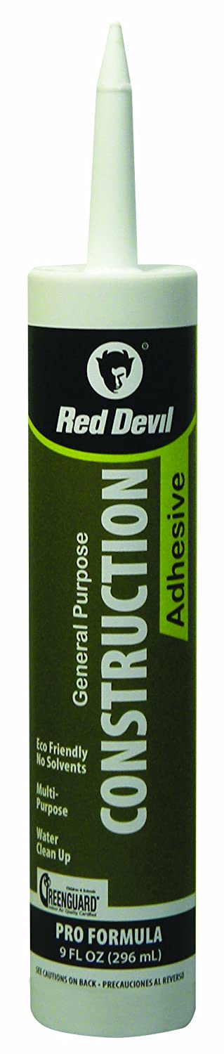 Red Devil 0776 06 Construction Adhesive General Purpose 9.0 Ounce