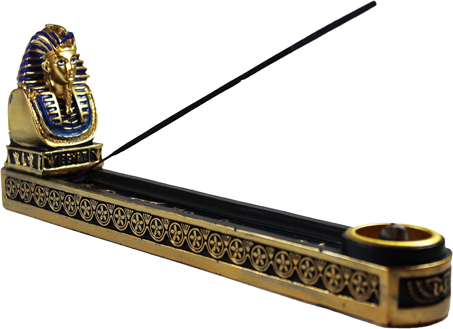Fantasy Gifts Egyptian Pharaoh King Incense Holder - 10""