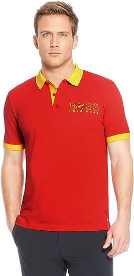 BOSS Hugo Hombre Camiseta Polo Paddy de la Bandera España 50260461 ...