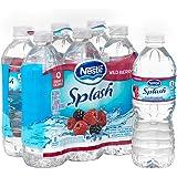 Nestle Pure Life Splash, Wild Berry, 16.9 Fluid Ounce (Pack of 6)