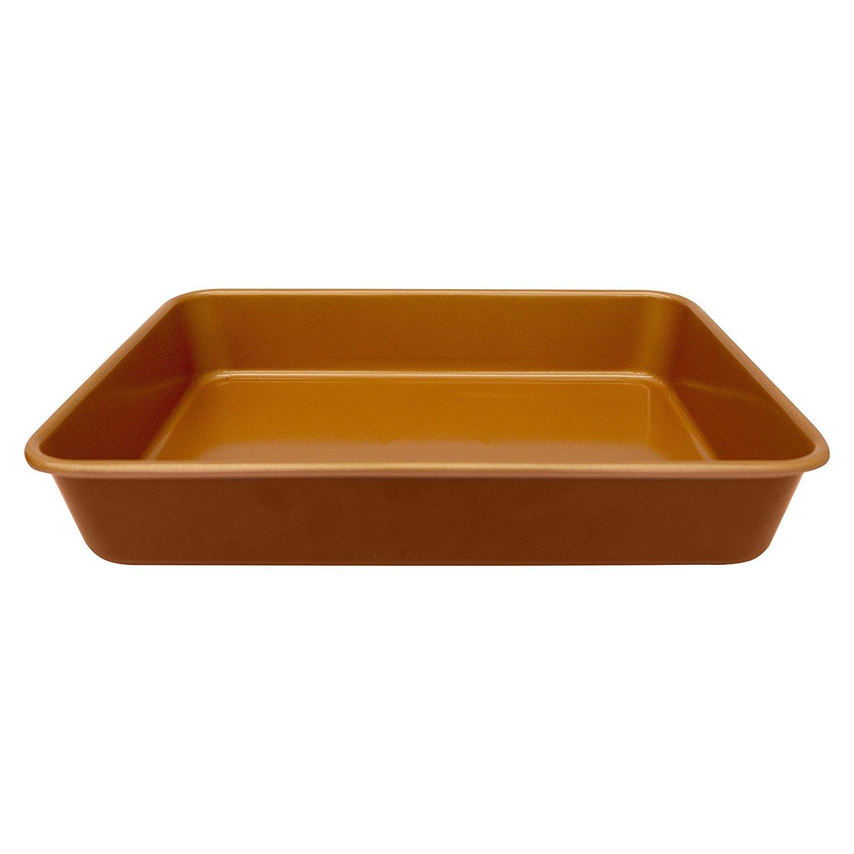 Gotham Steel Bakeware - Nonstick Copper 9-Inch x 13-Inch Baking Pan (6)
