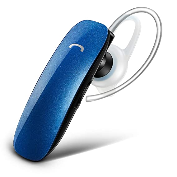 Wireless Bluetooth Headset With Mic Voice Control Caller Number Prompt Noise Cancelling GLCON