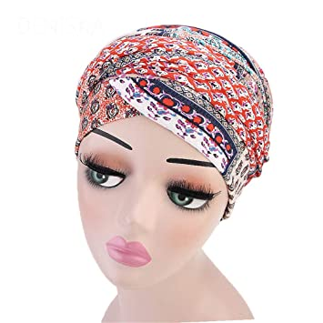 Amazon.com: Women Floral Velvet Turban Nigerian Turban Hijab Extra Long Tube Head Wrap Muslim Scarf Hair Accessories 01: Beauty