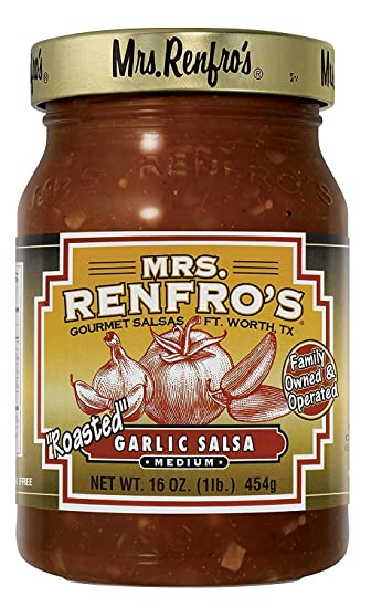 Mrs. Renfros Garlic Salsa