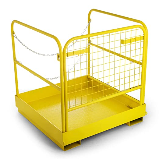 Amazon.com: VEVOR carretilla elevadora seguridad jaula ...