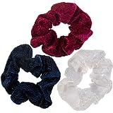 3 Hair Scrunchies / Bobbles / Bands / Holders Set