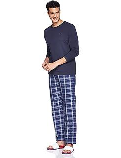 Tommy Hilfiger Set LS Check Pijama, Rosa (Navy Blazer/Pomegranate 006), Medium para Hombre: Amazon.es: Ropa y accesorios