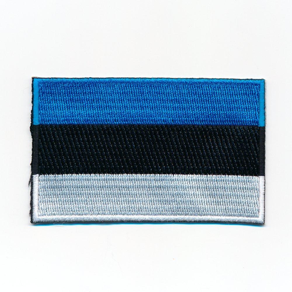 80 x 50 mm D/änemark Kopenhagen Europa Flagge Flag Aufn/äher Aufb/ügler 0947 X
