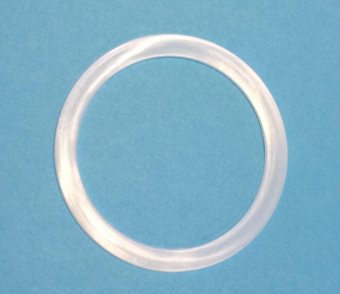 24 Pack WIDE MOUTH Mason Jar Cap Silicone Gasket Lid Seals High Quality