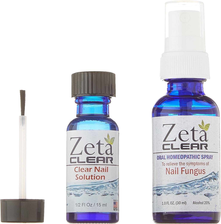 Amazon Com 1 Zetaclear Nail Fungus Formula 1 Fl Oz Oral Spray